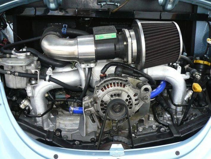 1973 vw beetle turbo with subaru wrx sti engine vw beetle turbo vw beetles vw engine 1973 vw beetle turbo with subaru wrx