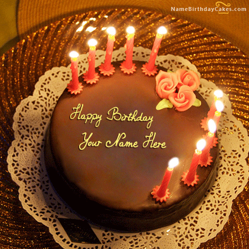write name on Birthday Cake for Husband picture HBD Cake
