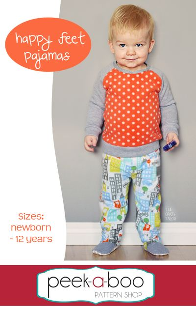 Happy Feet Pajamas | boy stuff | Pinterest