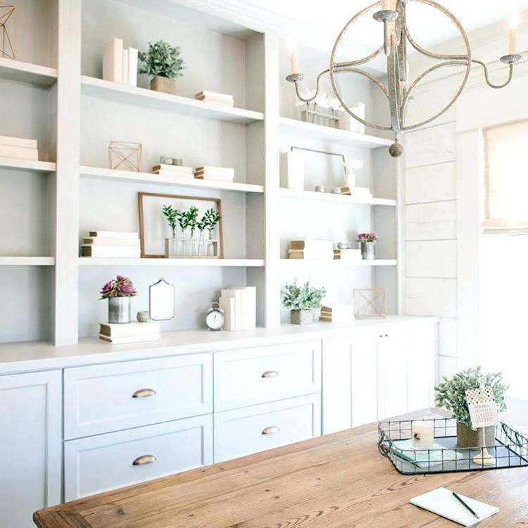 Built In Office Cabinets Dining Room