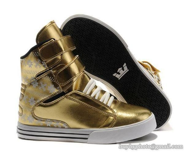 90bd11dc0dc Supra TK Society Snowflake Pack Gold Size 13
