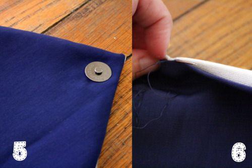 DIY Envelope Clutch — HollyDolly | Diy envelope, Envelope ...