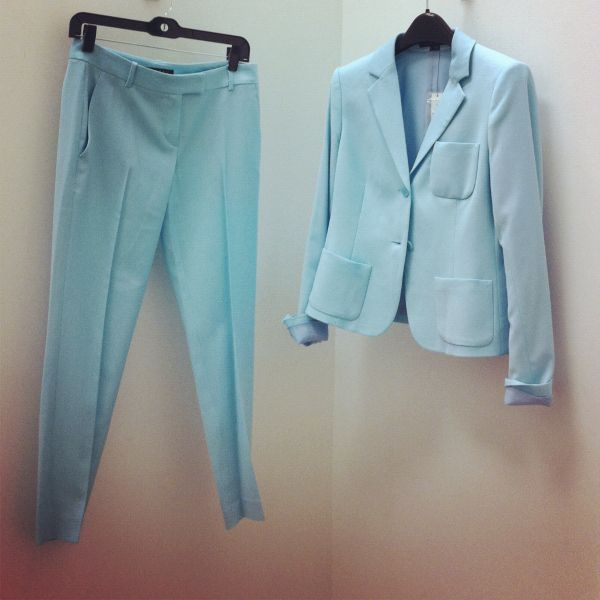 Pastel Mint Suit Work Suits For Women Suits For Women Women Wear