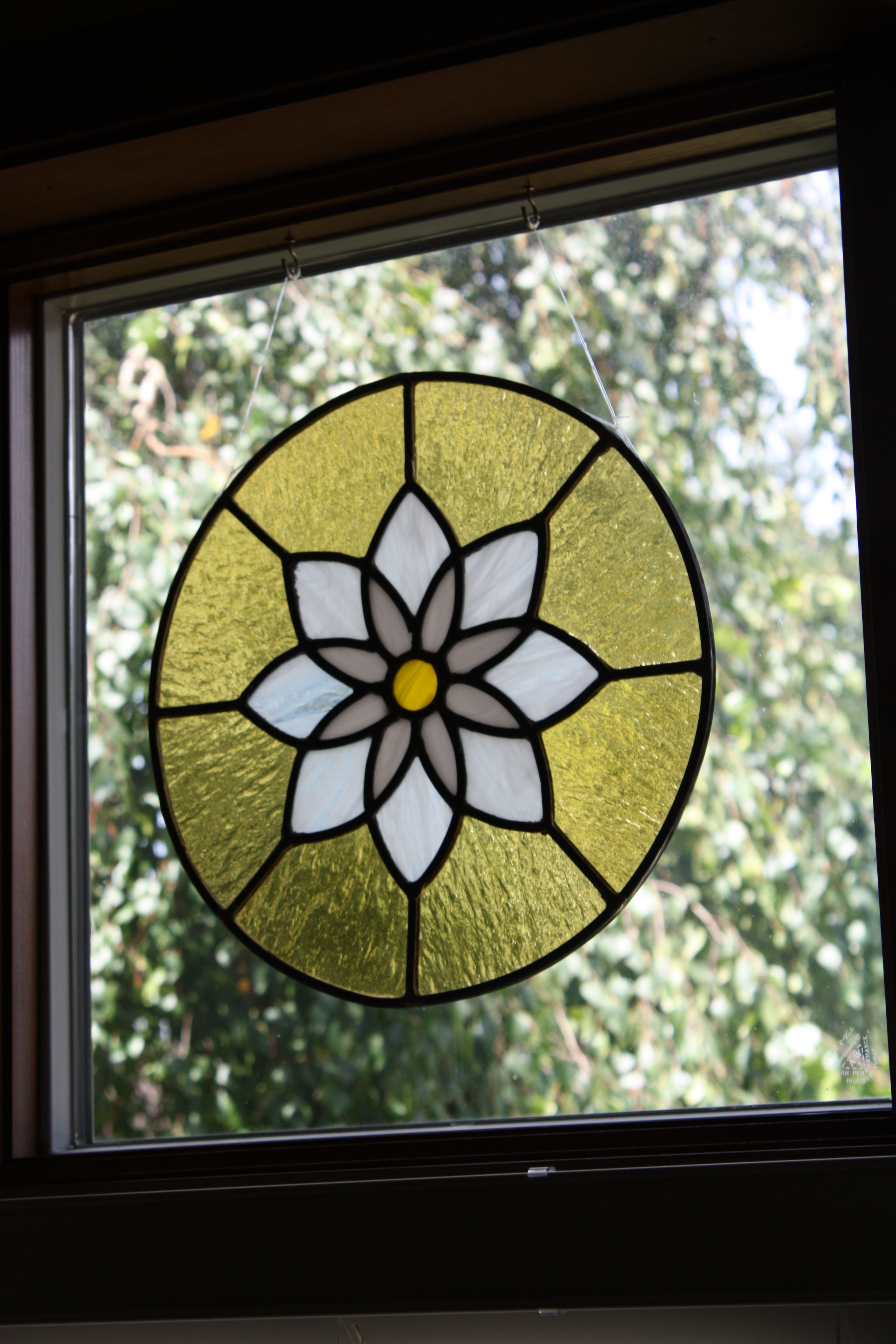 He makes amazing stained glass!