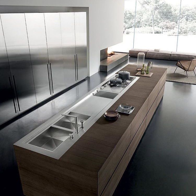 Minimalistic Modern Luxury Kitchen Island Design With: Pin By Cinzia Forasiepi On Contemporary Home For Wikiup