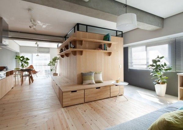 Two Apartments In Modern Minimalist Japanese Style (Includes