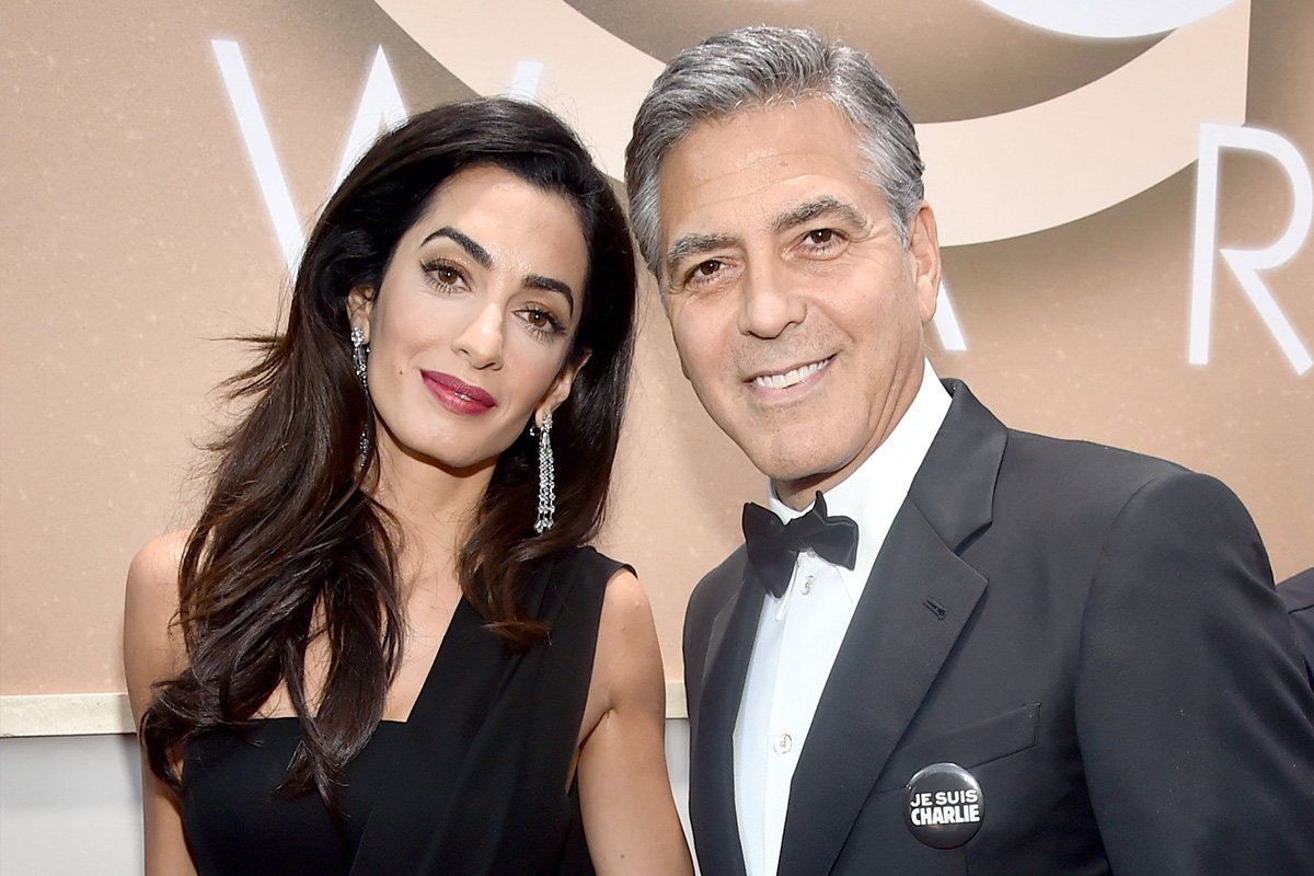 Paranoid George Clooney Hires Each Of Their Twin Infants Their Personal Bodyguard Expecting Twins George Clooney Bill Cosby