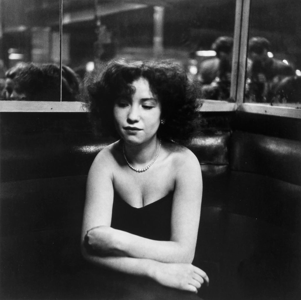 Robert Doisneau  Mademoiselle Anita, rue de Lappe, Paris 11e, octobre 1951 © Atelier Doisneau