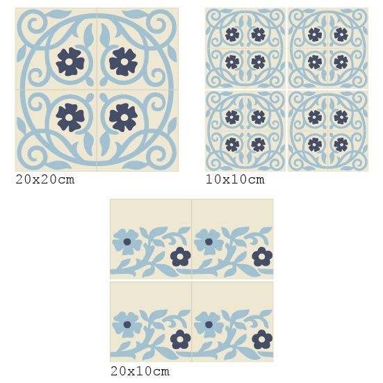 Beija Flor Wall Tile Stickers Tiles Room Inspiration