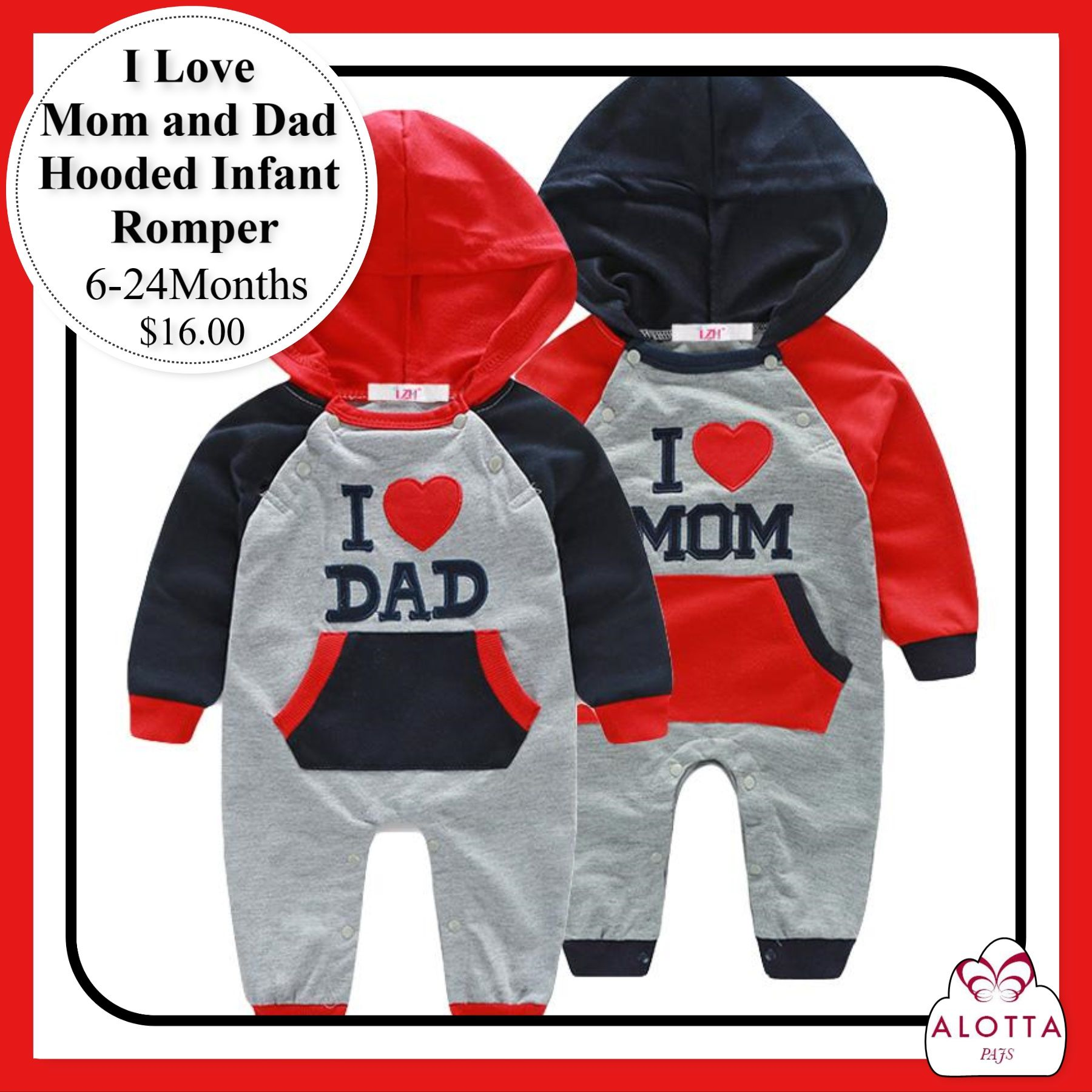 Babies Are So Adorable In Their Clothes Now They Can Say I Love You Mom Or Dad With These Cute Baby Rompers Baby Romper I Love Mom Mom And Dad