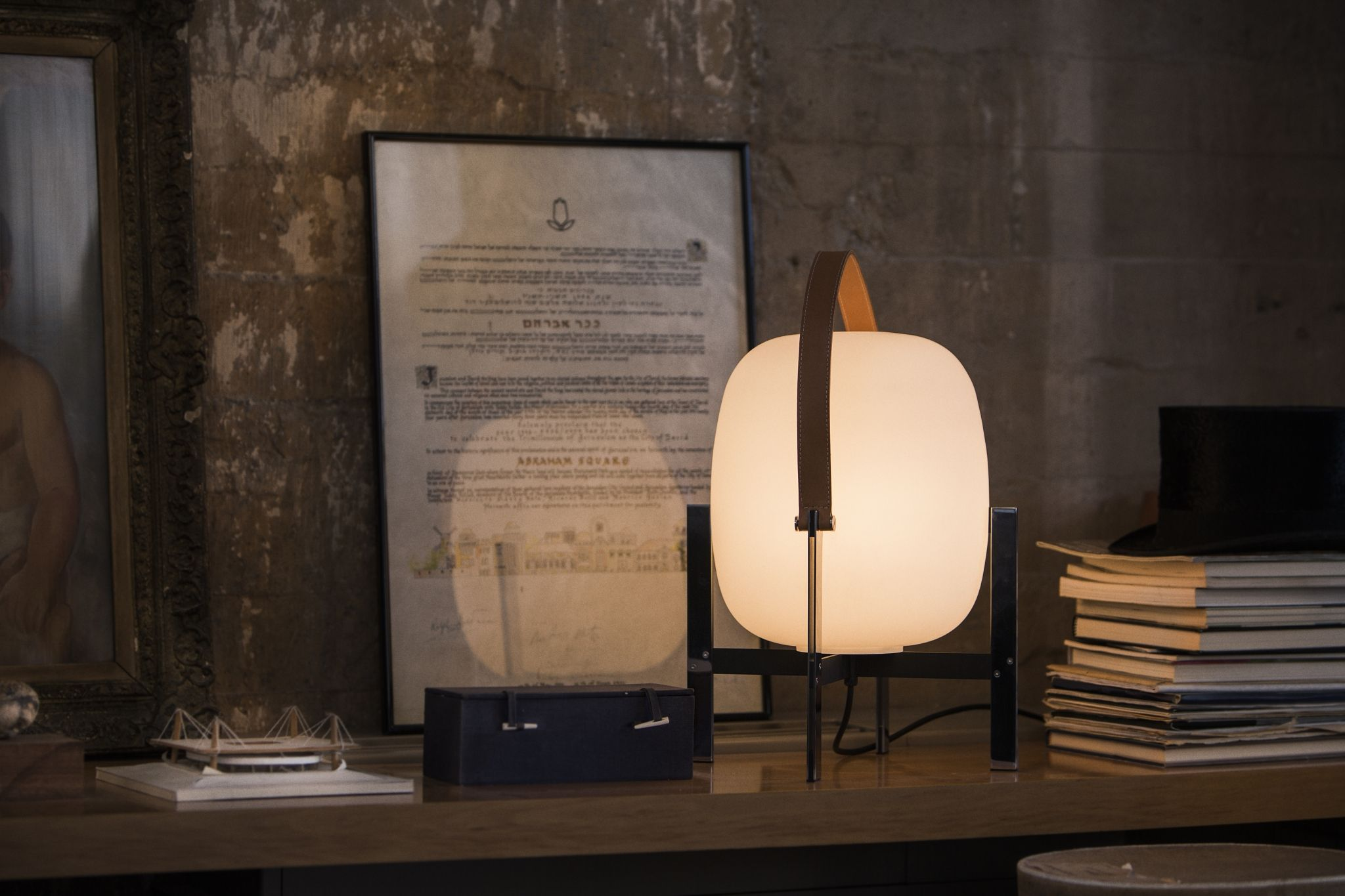 Cesta table lamps designed by miguel mil this enchanting cesta table lamps designed by miguel mil this enchanting handcrafted lamp has mozeypictures Image collections