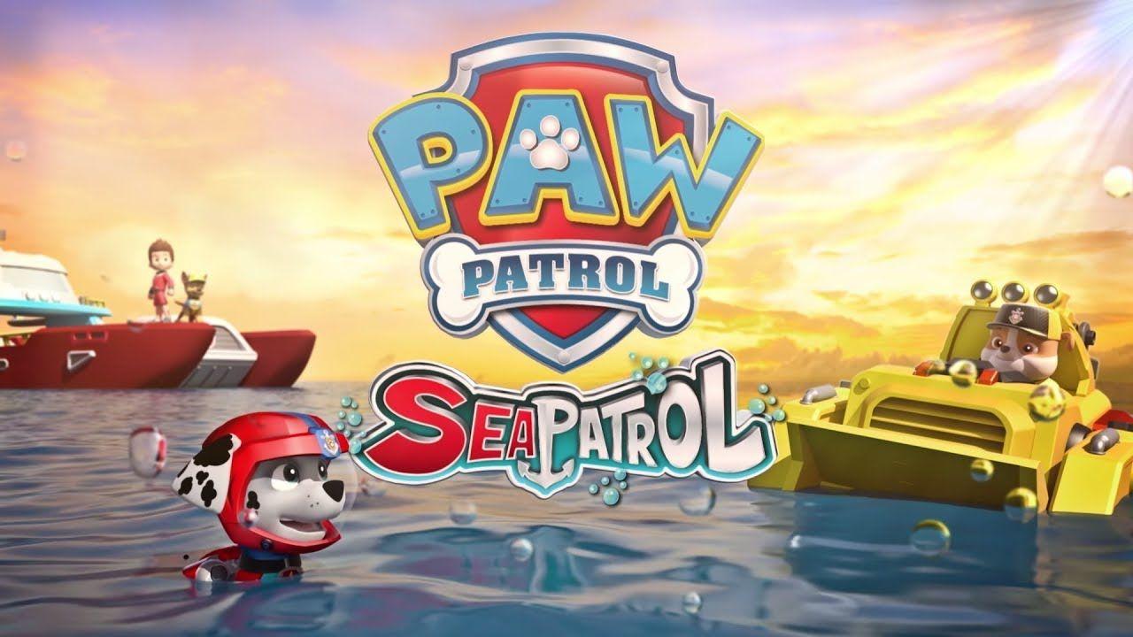 Paw Patrol Mission Paw Sea Patrol Team Rubble Sky Chase Sea Rescue Paw Patrol Paw Patrol Party Fun Games For Kids