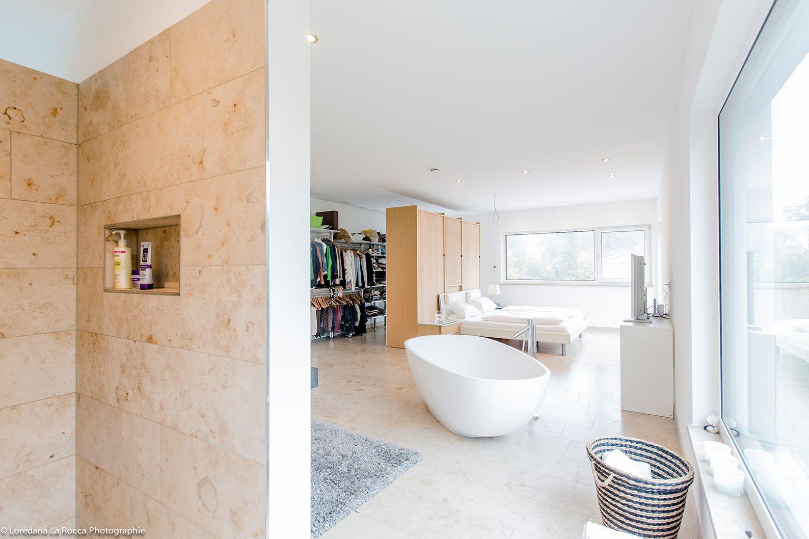 Haus Lastructura Fischerhaus Fertighaus Badezimmer Badezimmer Schlafzimmer Badewanne Offen Modern Klassisch W Fertighauser Badezimmerideen Badgestaltung