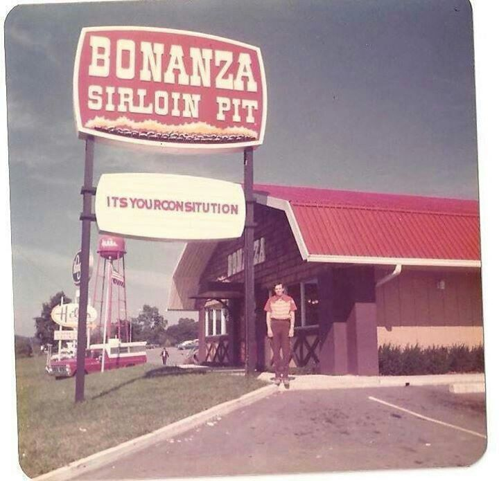 Bonanza In Bristol, Tn Was A Good Place To Eat. Could Eat