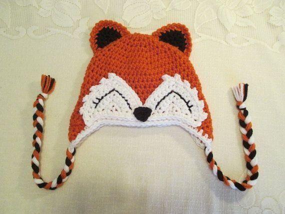 Touca de Crochê de Animais   Bichinhos - Tamanho infantil e adulto - Art  Crochê… 03504b3e54e