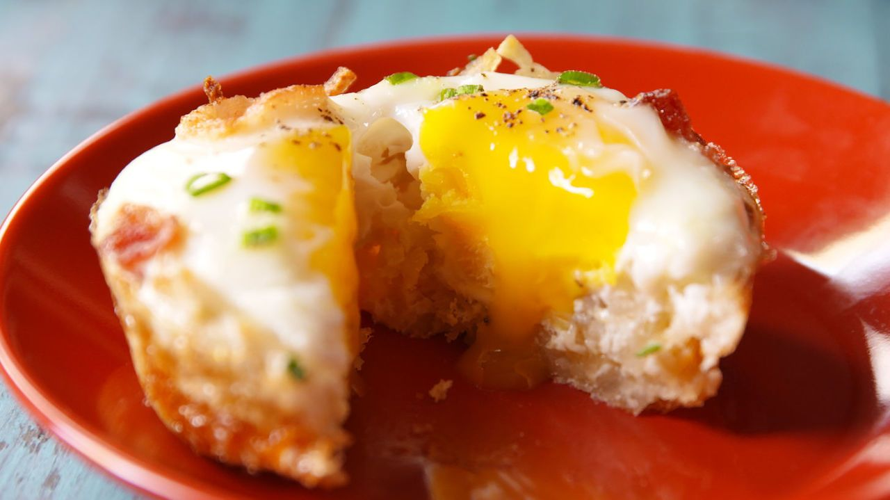 Brunch In A Breeze: Muffin Tin Baked Eggs Make Hosting Brunch A Breeze