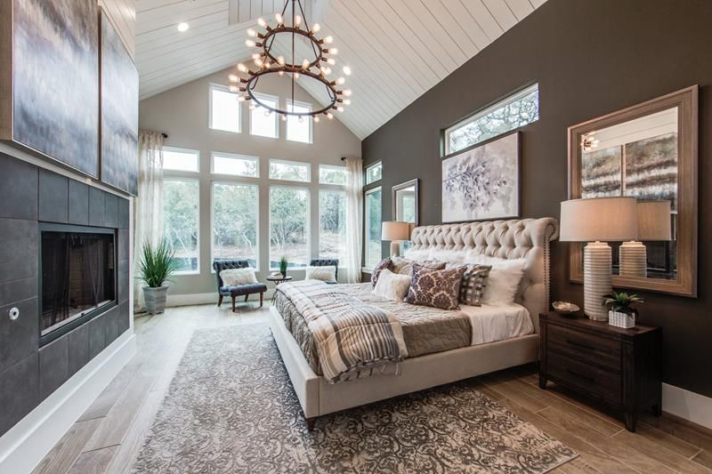 30 Master Bedroom Designs With Fireplaces Home Awakening In 2020 Cozy Master Bedroom Master Bedroom Design Bedroom Design