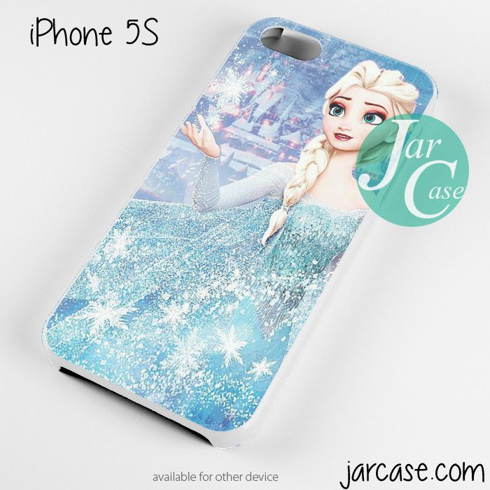Frozen Elsa Making Ice Phone case for iPhone 4/4s/5/5c/5s/6/6 plus
