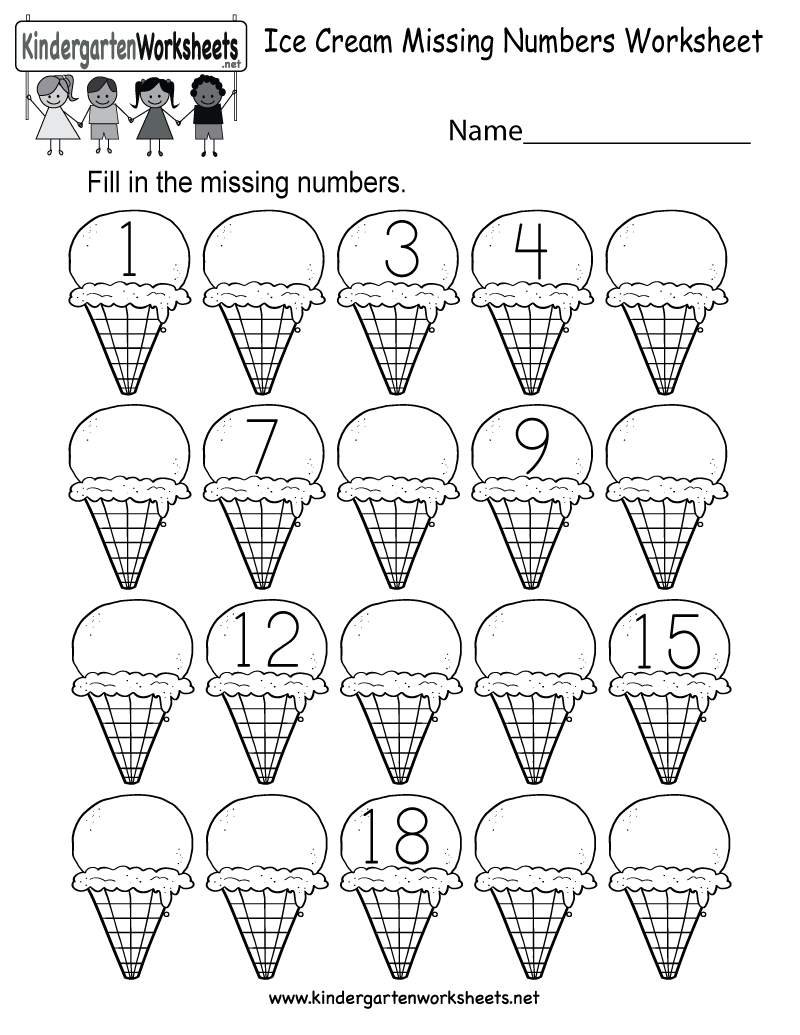 Kids Are Asked To Fill In The Missing Numbers In A Series Of 20 Sin Kindergarten Worksheets Printable Counting Worksheets For Kindergarten Numbers Kindergarten [ 1035 x 800 Pixel ]