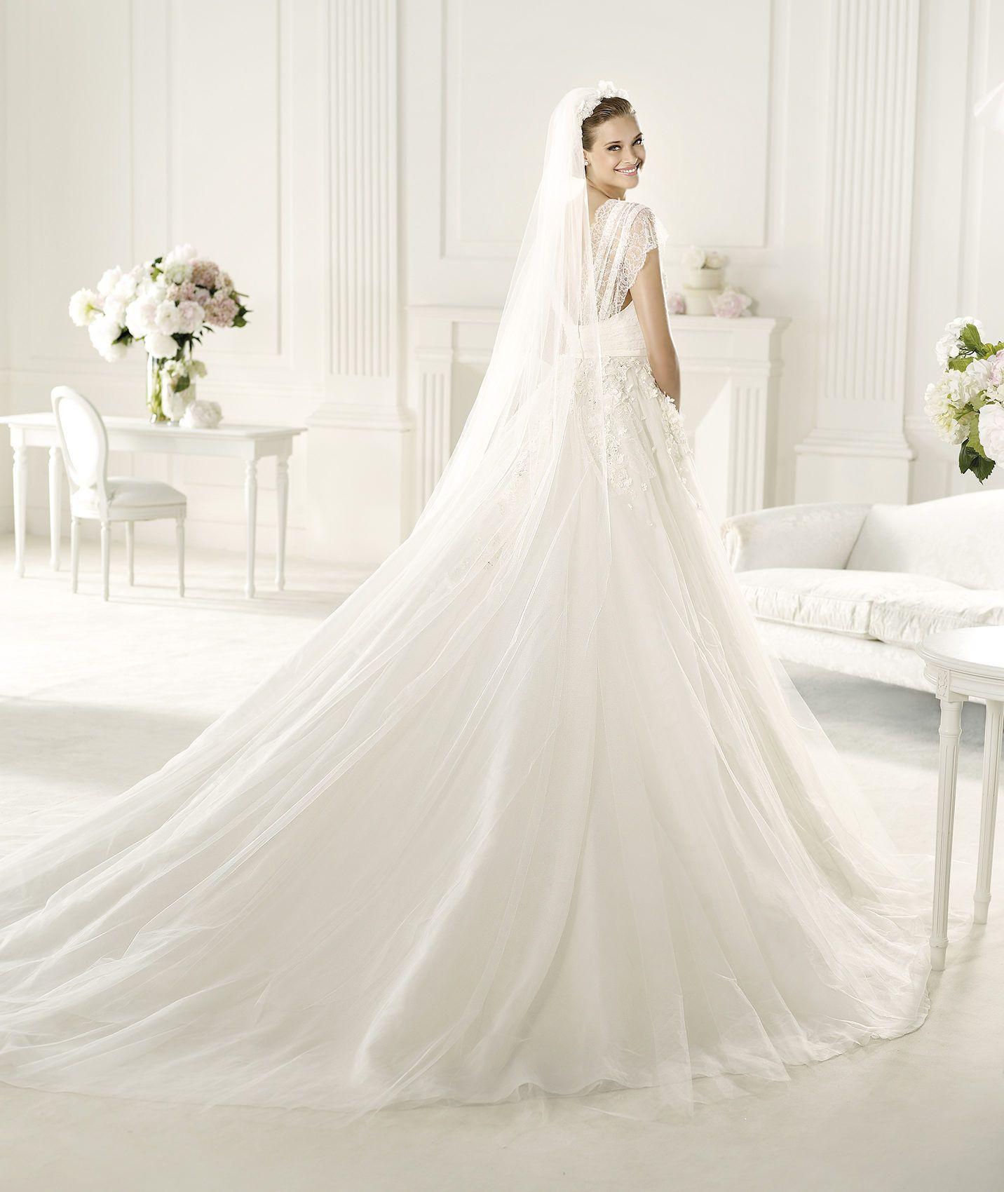 Pronovias presents the denisse wedding dress elie by elie saab