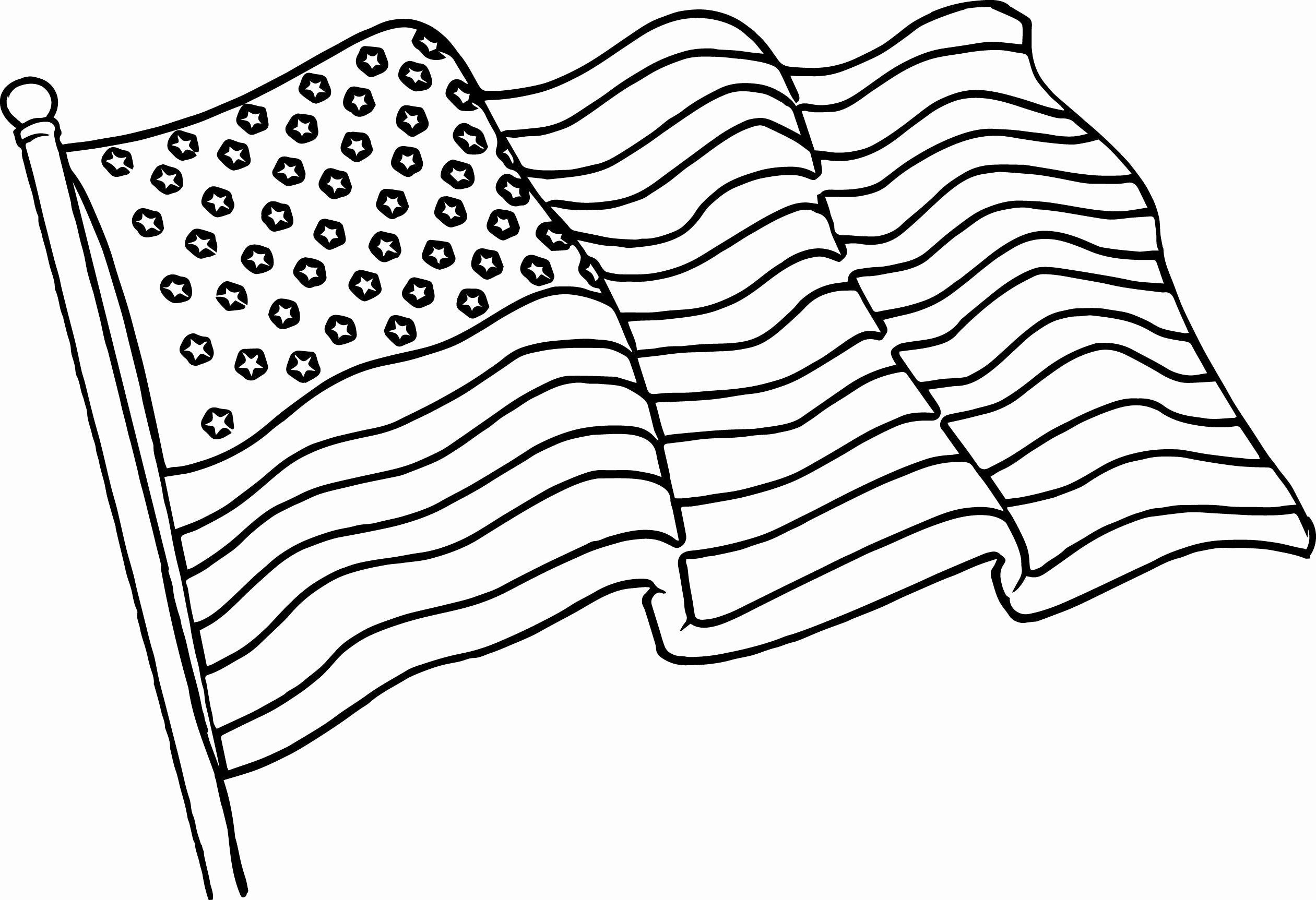 American Flag Coloring Sheet In 2020 Flag Coloring Pages