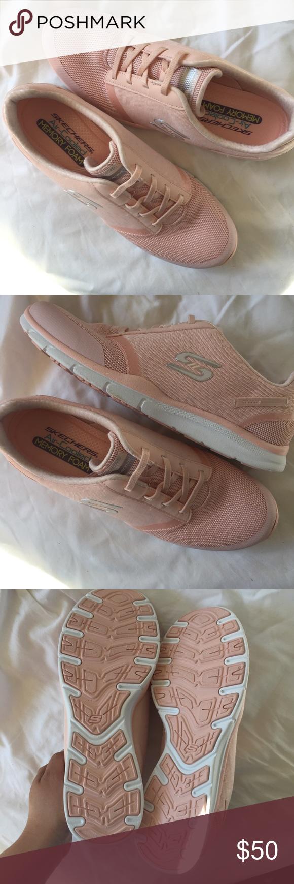 skechers peach