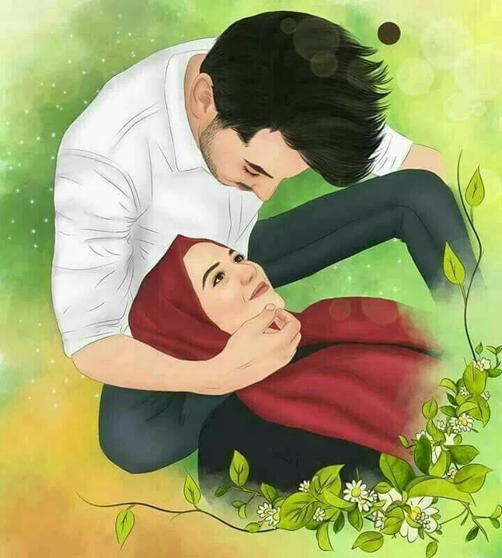 اجمل الصور المعبرة عن الحب والرومانسية مجلة رجيم Couple Cartoon Anime Muslim Muslim Couples