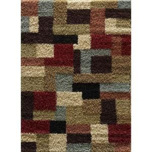 Casual Shag Multi 7 Ft 10 In X 9 Ft 10 In Transitional