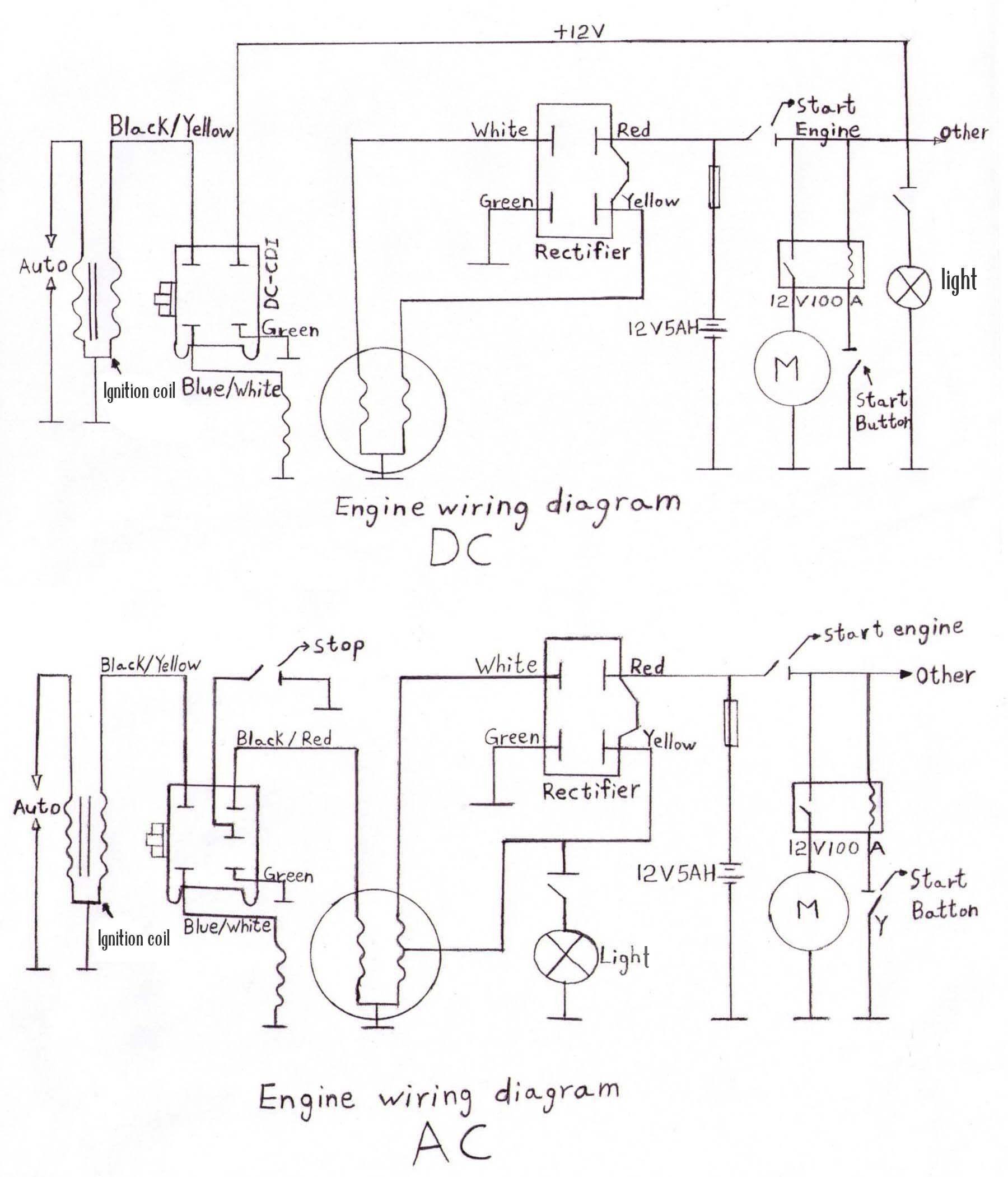 Lifan Pit Bike Wiring Diagram