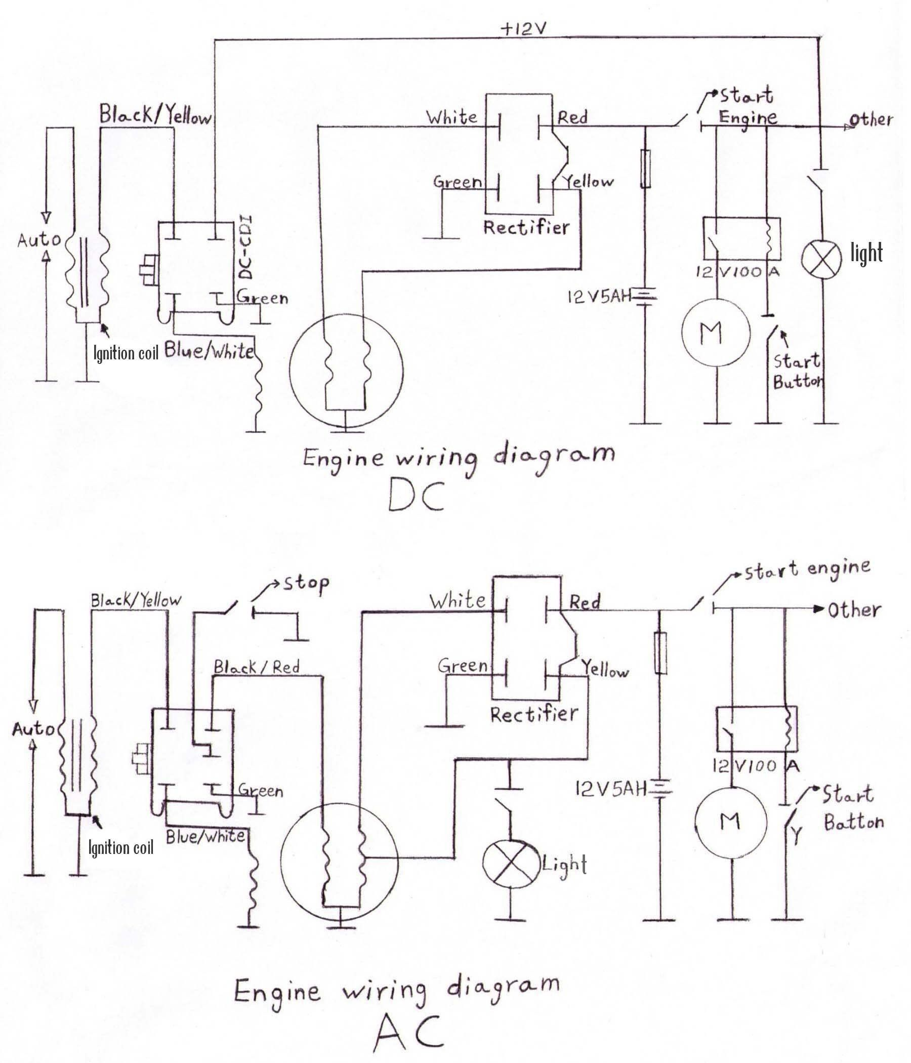 Lifan Generator Wiring Diagram
