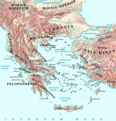 Bible Map Of Asia Minor.Map Of Asia Minor And Mediterranean Sea Region Bible Maps Pinterest