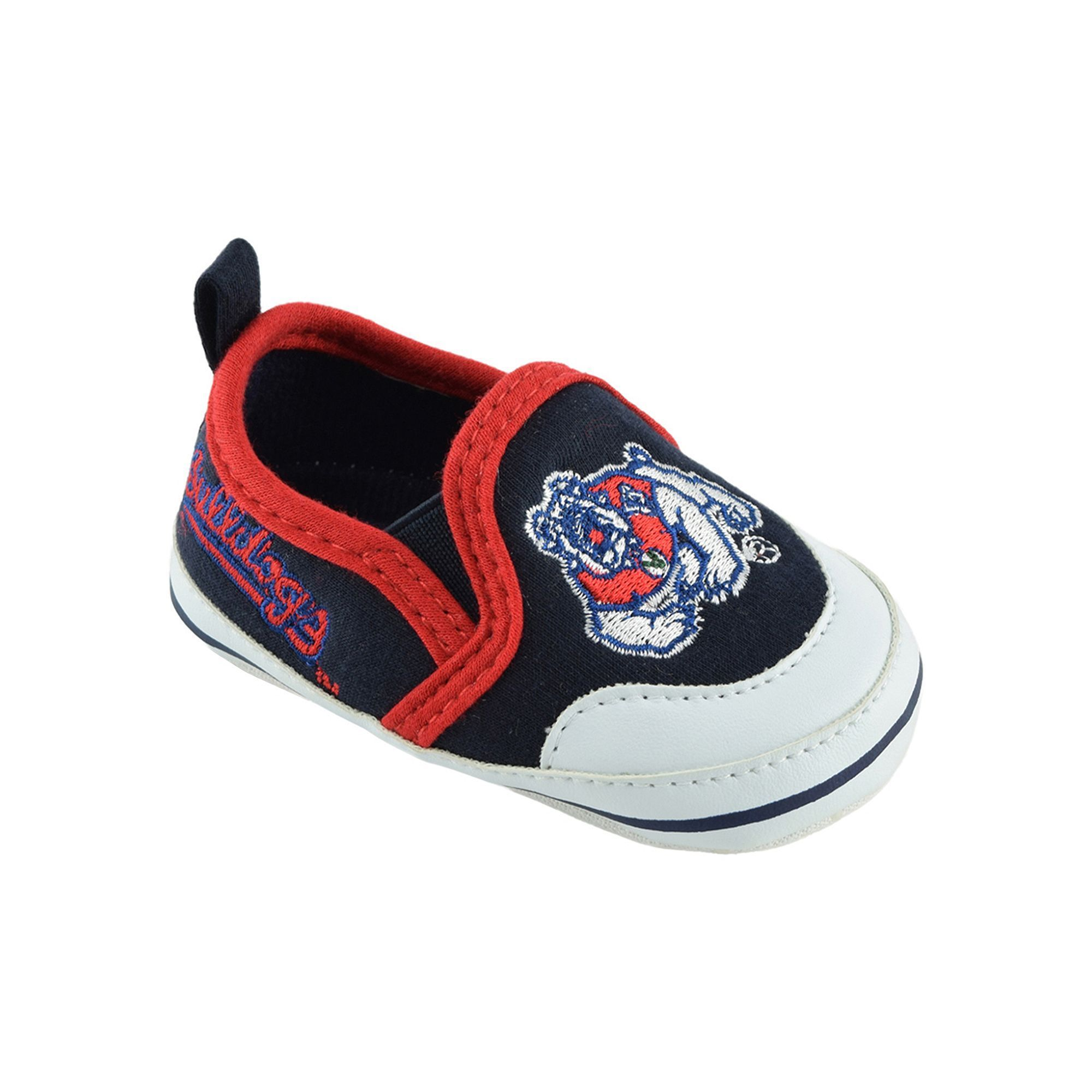 Baby Fresno State Bulldogs Crib Shoes Infant Uni Size 9