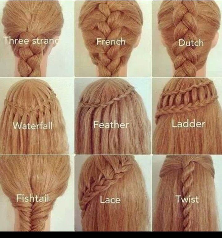 I Know How To Do All Of These Braids Pinterest Hair