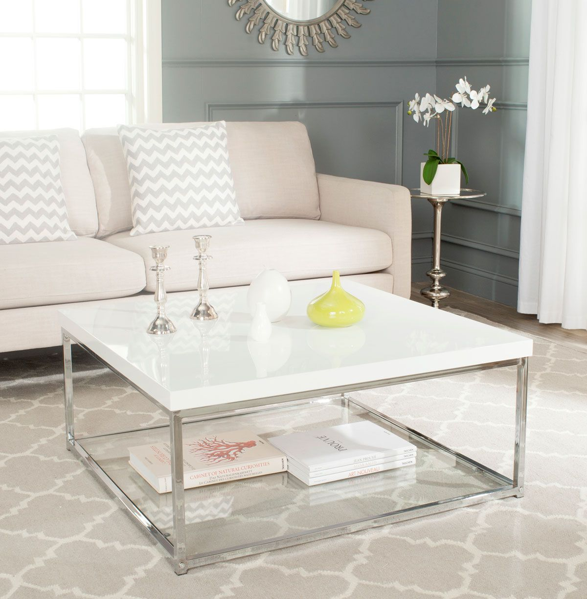 Fox2214a Coffee Tables Furniture By Modern Square Coffee Table