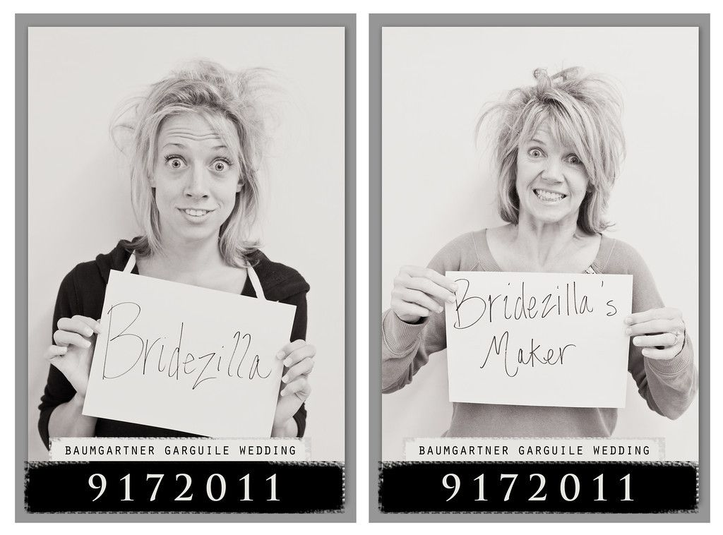 Bridal Party Mugshots Do This After Wedding Or Bachelorette Ummm