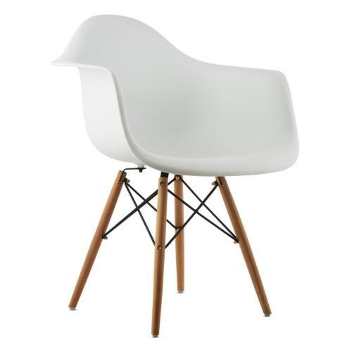 2x retro schalen stuhl set esszimmer wohnzimmer sitz büro holz - küchenstuhl weiß holz