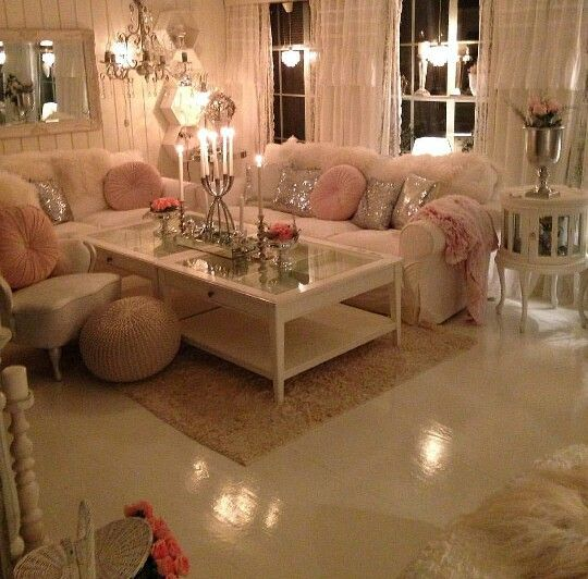 Best Blush Cream Gray And Gold Blush Living Room Decor 400 x 300