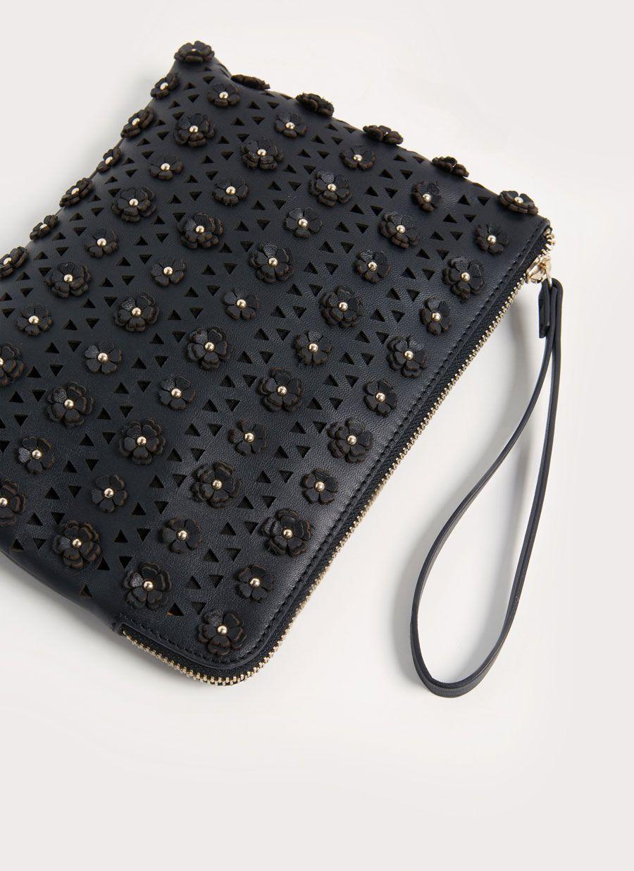 Sobre piel troquelado flores   NEW IN   SS17   Bags, Leather