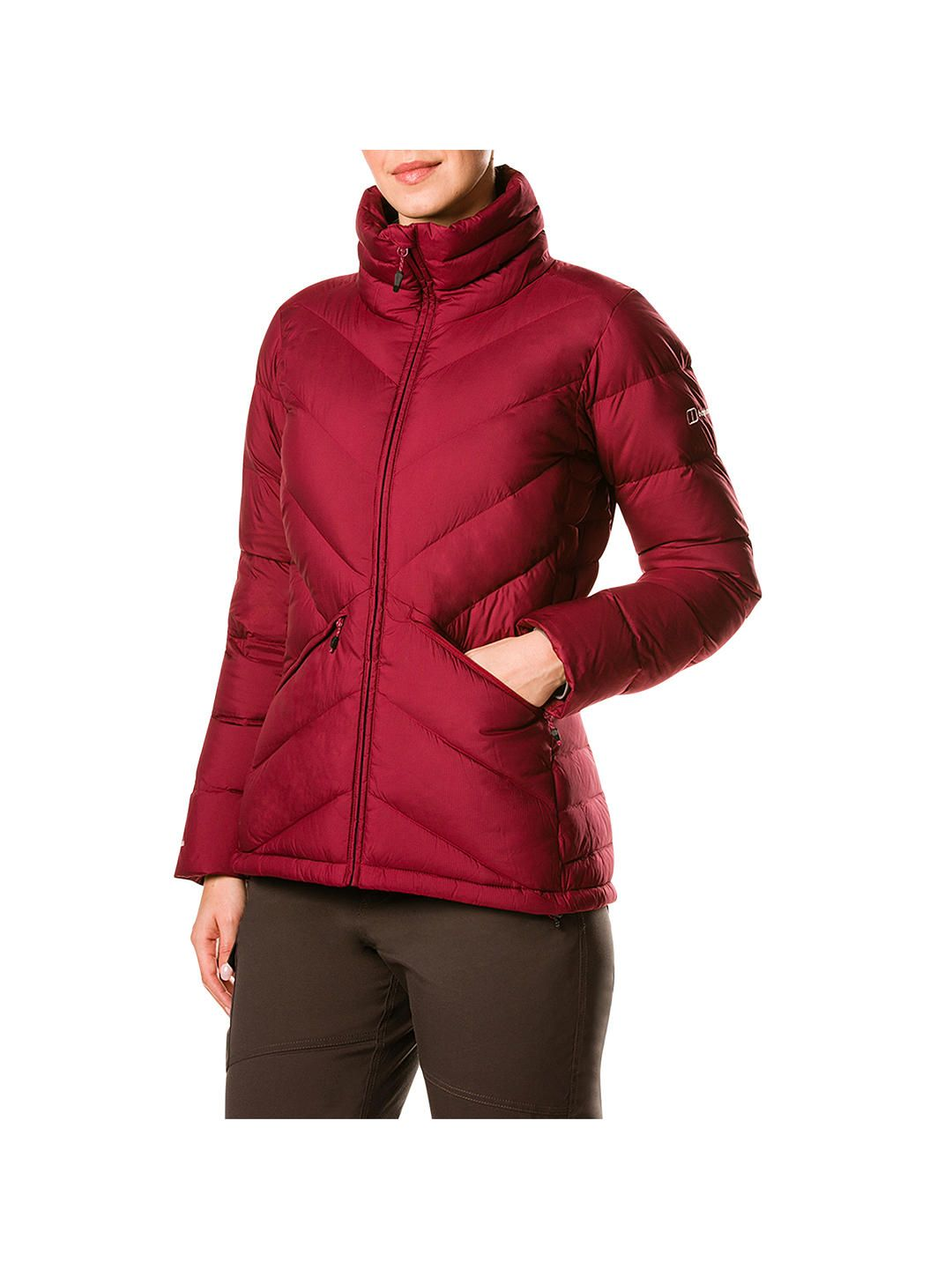 45ea46e7b Berghaus Easdale Insulated Women's Jacket, Beet Red. A smart warm ...