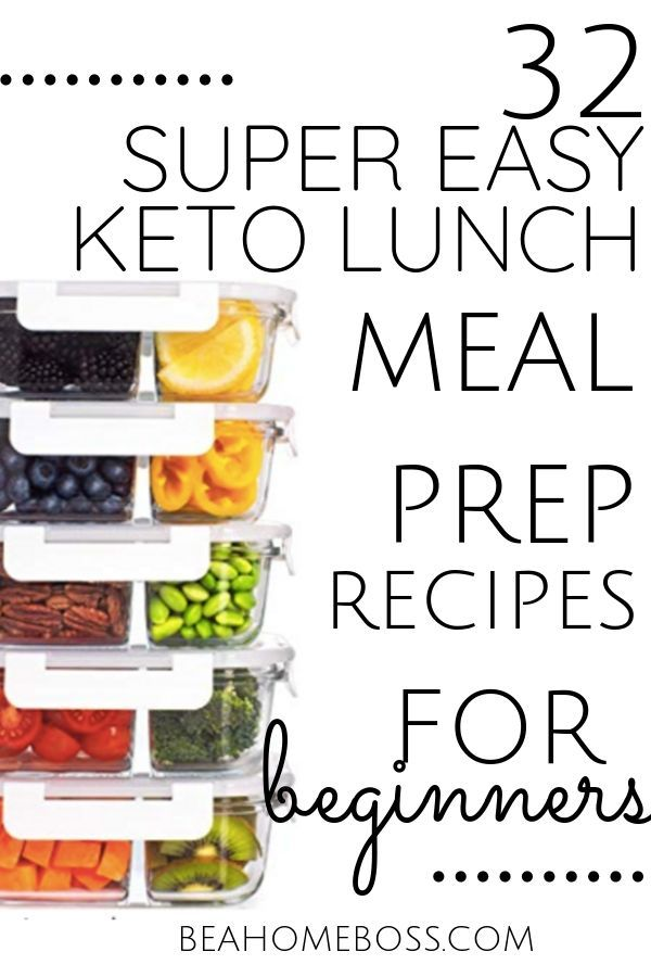 Easy Keto Meal Prep Recipes for Lunch