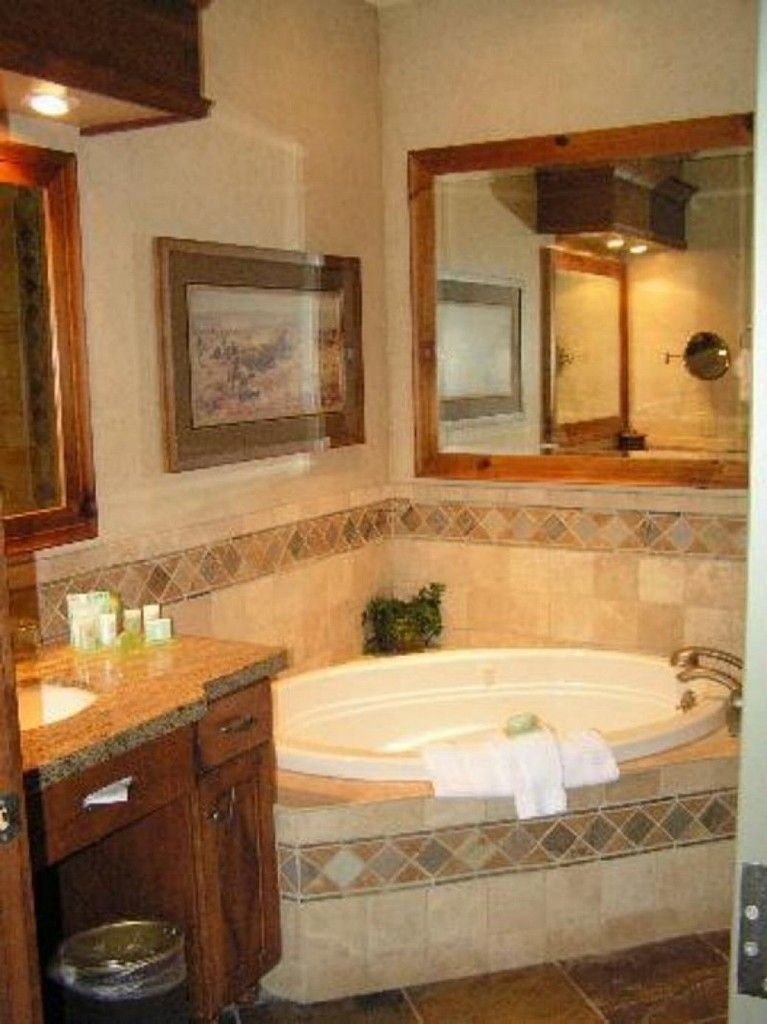 Jacuzzi tub design ideas for luxury bathroom bathroom for Bathroom jacuzzi ideas