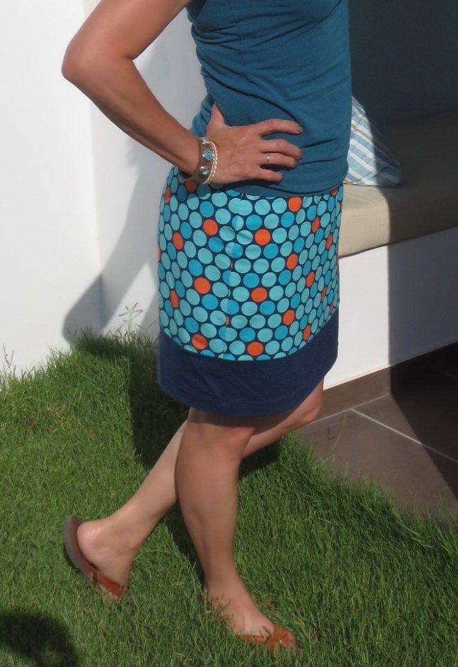Schneller einfacher Jerseyrock mit Gummizug #crochetdressoutfits