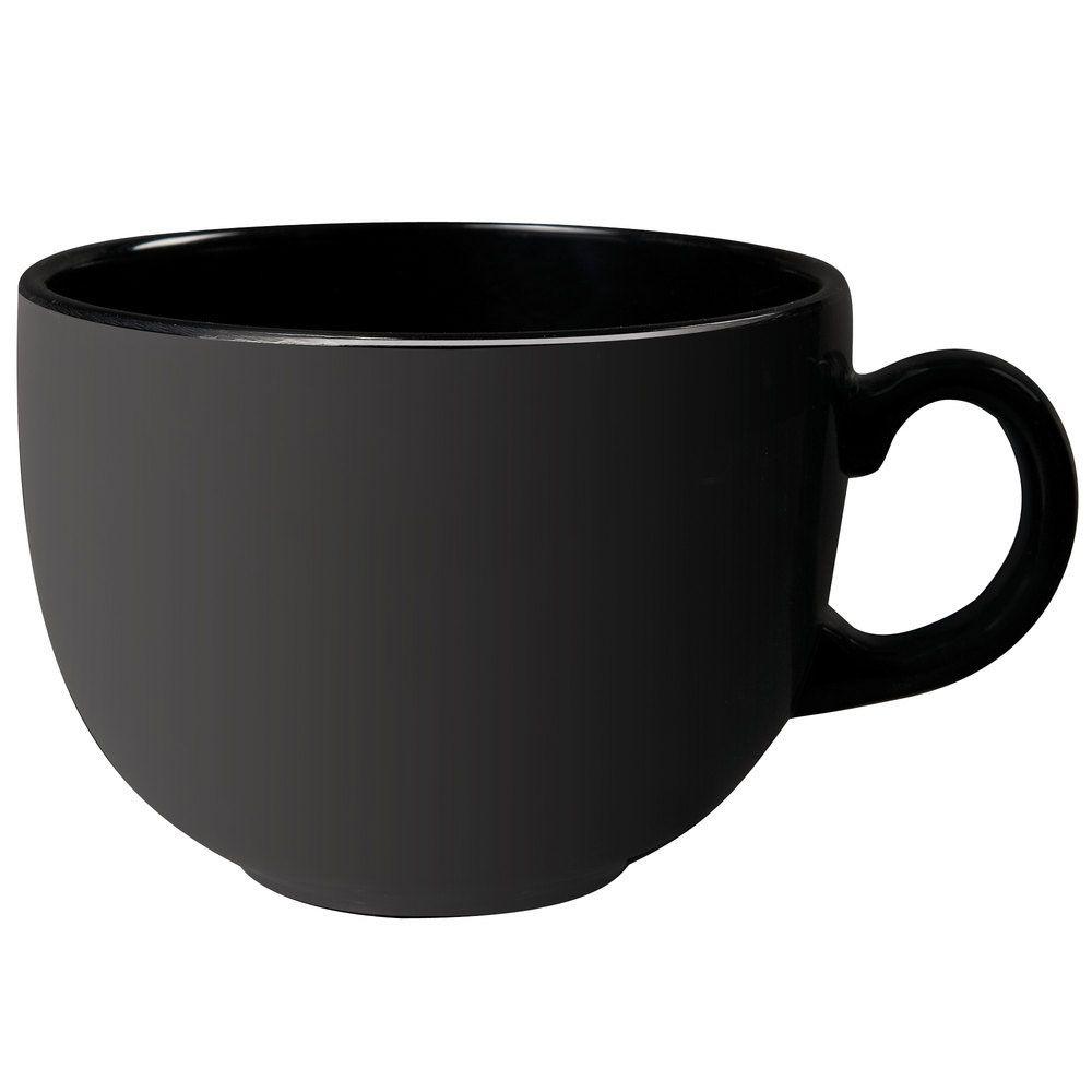 24 oz 475 x 35 mug black melaminecase of 12 mugs
