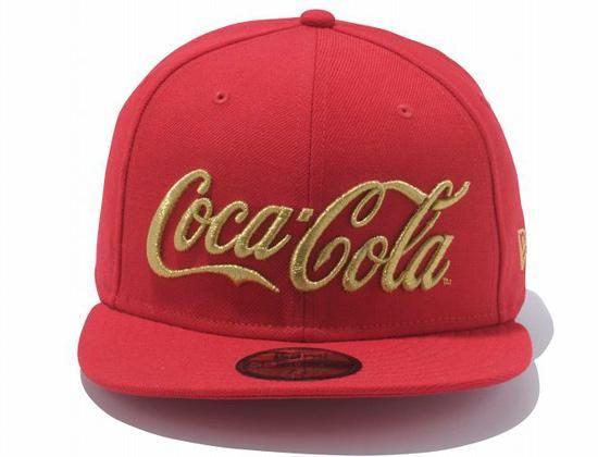 COCA COLA x NEW ERA 59Fifty Fitted Baseball Caps  4d204871245b