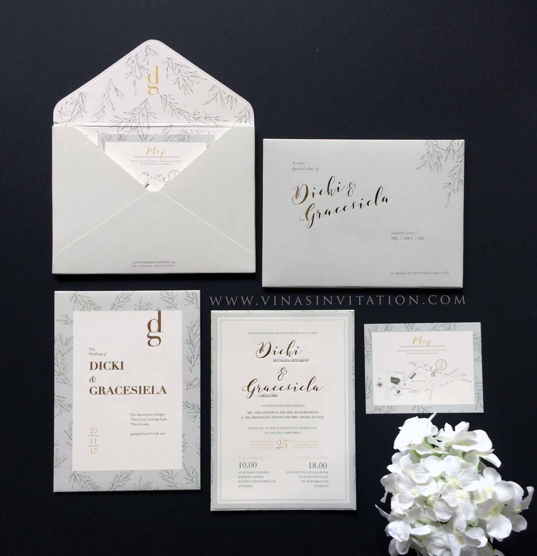 vinas invitation. wedding invitation semarang. wedding invitation ...