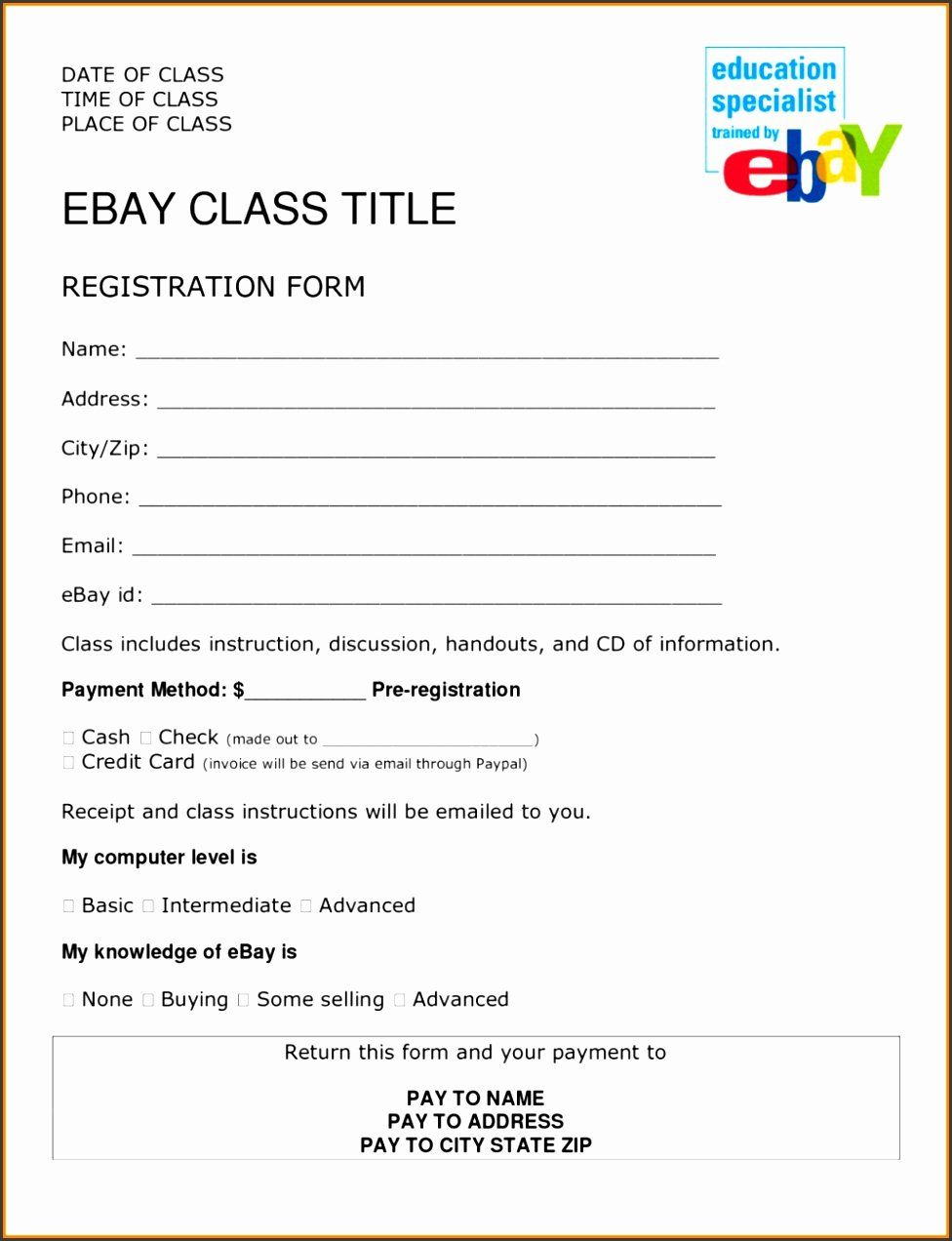 Event Vendor Registration Form Inspirational 6 Event Vendor Registration Form Template Sampletemplatess Registration Form Online Registration Form Registration