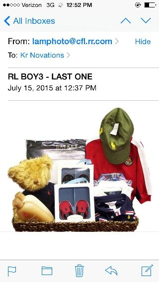 Polo by Ralph Lauren Designer Boys Gift Basket Shop www.krnovations ... 86f8232eda17