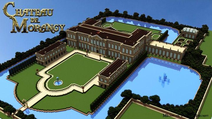 Ch teau de morangy minecraft project minecraft builds - Chateau de minecraft ...