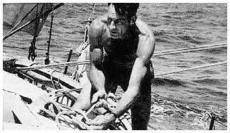 Bernard Moitessier - my sailing hero, along w Odysseus.