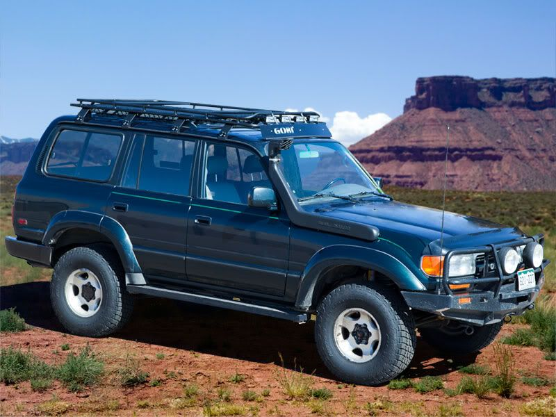 80 100 Series Gobi Rack Expedition Portal Land Cruiser Toyota Land Cruiser Land Cruiser 80